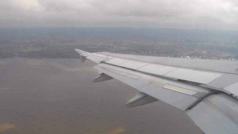 Increible vista de Buenos Aires - Aproximacion y aterrizaje Airbus A320 de Lan[mediante torchbrowser.com]