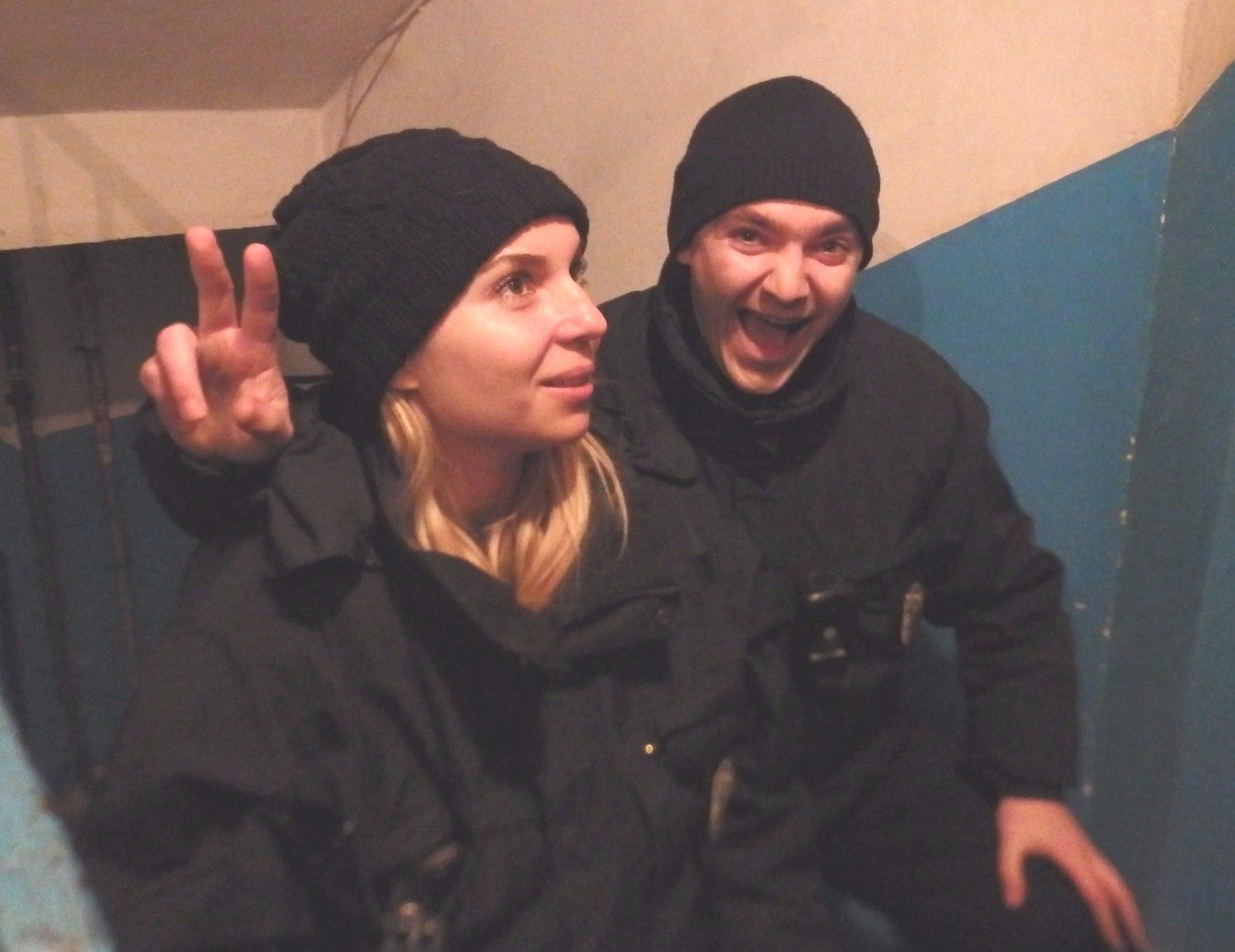 Харьковские копы боятся прощаться