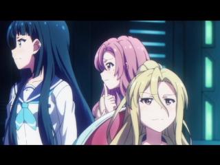 Battle Girl High School: Battle Girl Project 2 серия русская озвучка Mutsuko Air / Боевая старшая школа для девочек 02