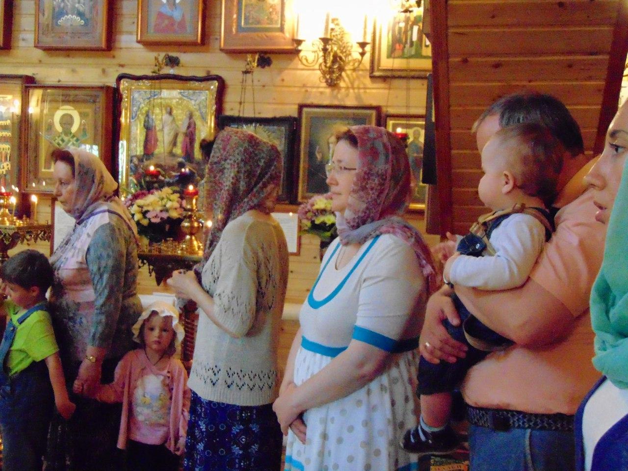 В Уварове отметили престольный праздник храма святителя Феодора Едесского