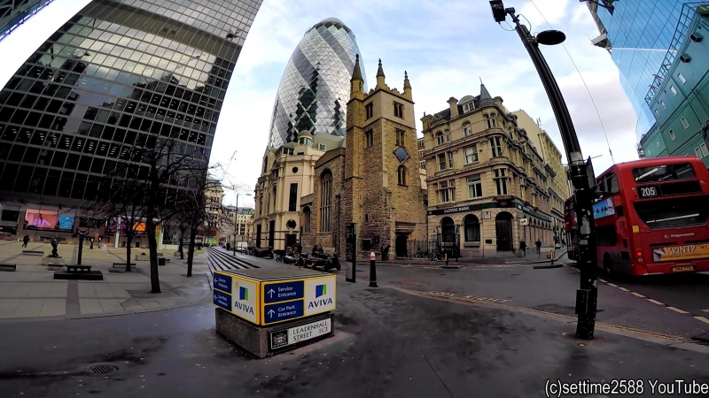 A Walk Around the City of London and Its Iconic Buildings