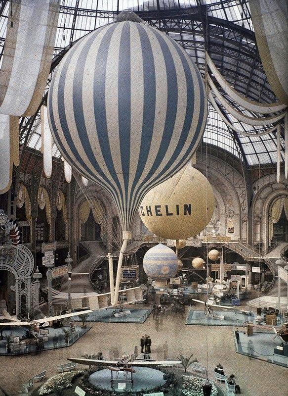 Как выглядел Париж 100 лет назад - фото