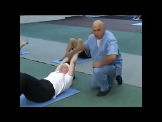 упражнения для укрепления спины,шеи и пресса