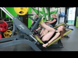 Жим ногами нашей юной участницы. #conceptVid #тренировка #качалка #фитнес #бодибилдинг #спорт #здоровье