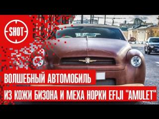 Волшебный автомобиль из кожи бизона и меха норки Efiji