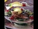 Рыбка с овощами на углях от @restochag