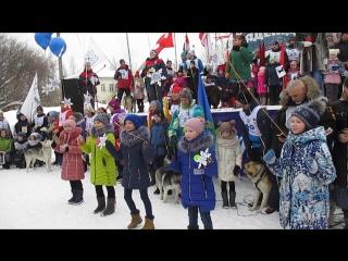 Открытие 11 Международной гонки на собачьих упряжках Северная Надежда 2017 г. Нея