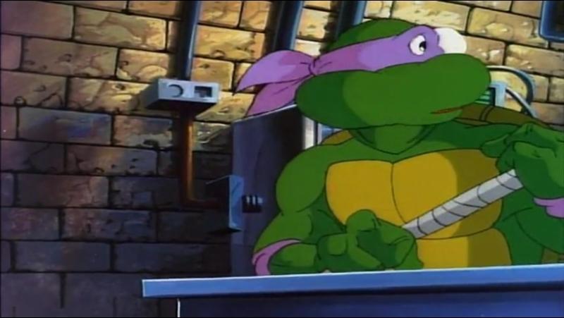 4x88 Donatello detiene el tiempo