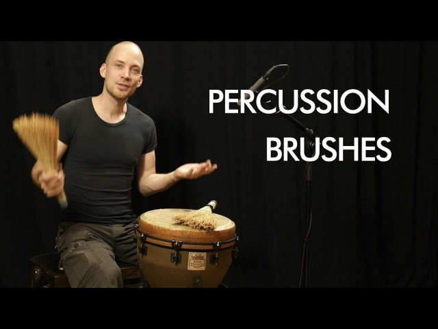 Percussion Brushes by Rawpercussion