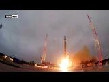 Запуск космического аппарата Минобороны России с космодрома Плесецк