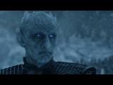 Дейнерис с Драконами спасают Джона Сноу. Смерть Визериона. Игра Престолов. (7 сез ...