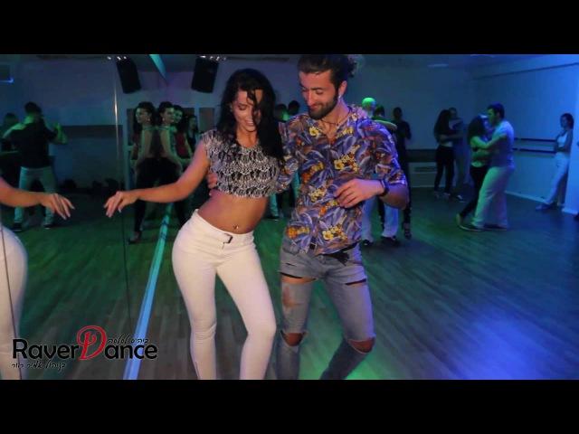 Ronie Saleh Anna Treiger dance Kizomba