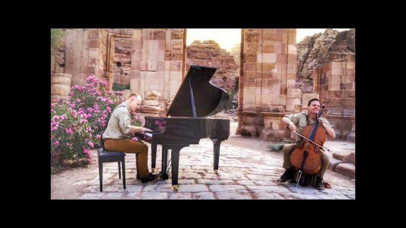 Indiana Jones Rocks Petra with this Arabian Classical Remix! - The Piano Guys