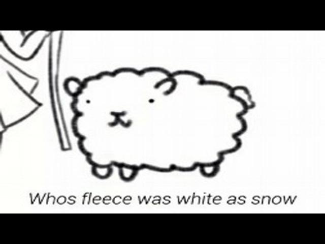 Mary's Littlest Lamb