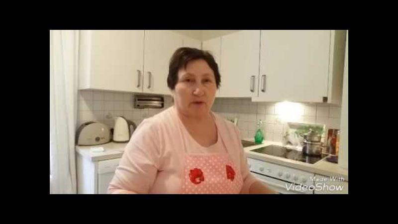 Кухен с карамельками и рогалики с сливово яблочным джемом часть 2