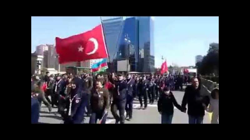 Türk qardaşlarımız Xocalı Şəhidlərini yad etdi