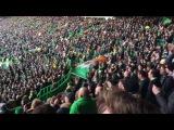 Celtic Fans Standing Section Scott Sinclair song North Curve Celtic