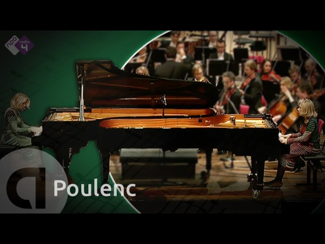 Poulenc Concerto in D for 2 pianos - Florence Isabelle Lafitte - Live Classical Music