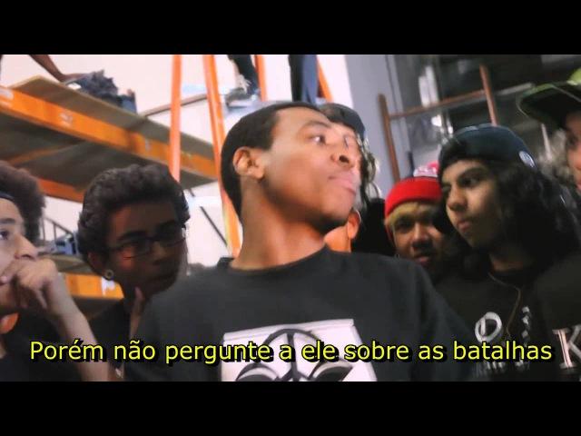 Supa Hot Fire VS Deshawn Raw - Legendado PT-BR