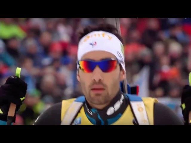 Biathlon Martin Fourcade - Heading Up High