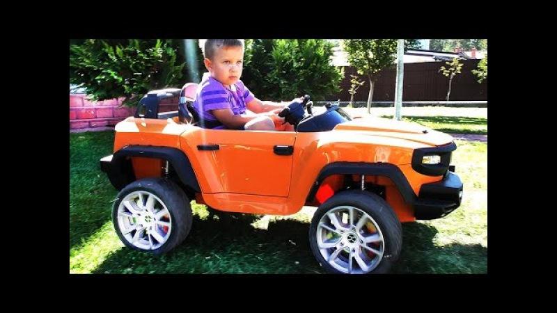 ★ Новая МАШИНА HENES BROON T870 New Kids Car Race СУПЕР ЭЛЕКТРОМОБИЛЬ с Планшетом Машинки для детей
