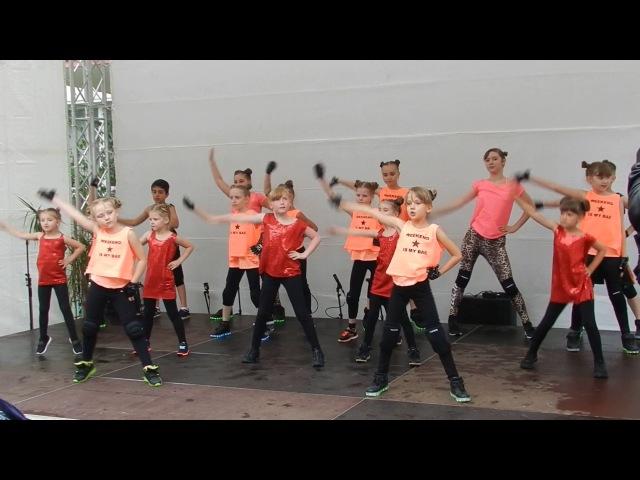 Jana Ritter Tanzstudio Kulturtag in Lichtenberger KULTSchule 2017