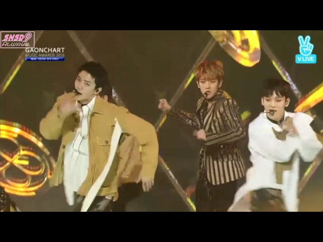 170222 EXO (엑소)-IntroMONSTERLouder/Lotto @ 6th Gaon Chart Music Awards 2017