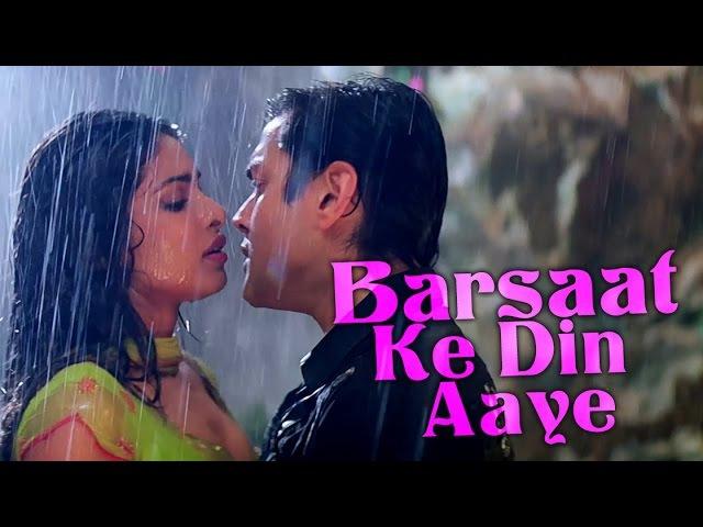 Barsaat Ke Din Aaye Barsaat 2005 Bobby Deol Priyanka Chopra Rain Song Filmigaane