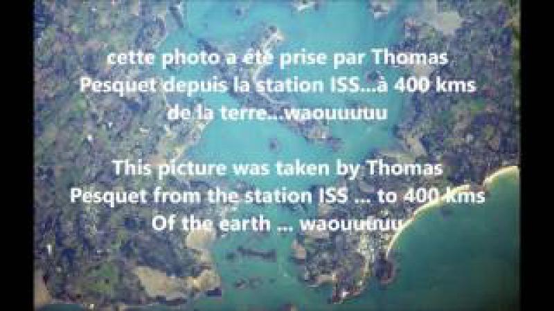 Photos de la terre par Pesquet, réalité ou pas