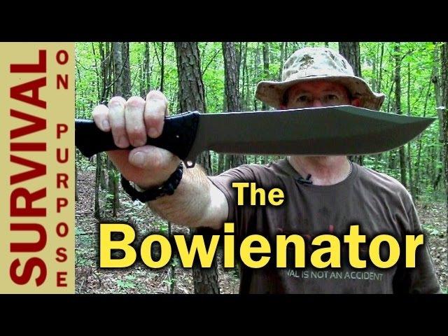 Schrade SCHF45 Bowie Style Chopper - Survival Knife