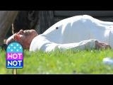 Arnold Schwarzenegger Shot by Fellow Assassin Taran Killam in Why We're Killing Gunther