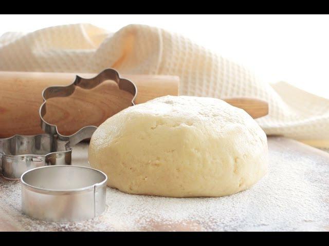 Тесто Песочное на сметане. За 5 минут! Для домашнего печенья. 🍪