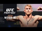 UFC Fight Night Stockholm Official Weigh-in