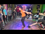 Little Breaking (полупрофи) battle for 3rd place - bboy Shady (SCJ Тихорецк) vs Zsuzsa (Тимашевск)