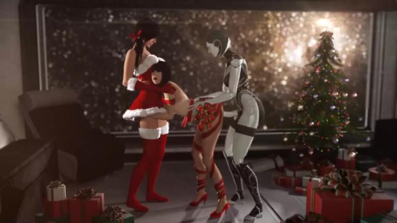 Ashley-Williams-Kasumi-Goto-and-EDI-SSPPP-Mass-Effect-Animated-Hentai-3D-CGI-Video