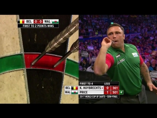 Belgium vs Wales (PDC World Cup of Darts 2017 / Semi Final)