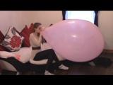 kat jones - Blow To Pop Giant Balloon
