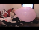 kat jones - Blow To Pop Giant Balloon