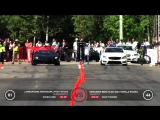 Заезд Lamborghini Aventador LP700-4 Stock против Mercedes-Benz CLS63 AMG Gorilla Racing