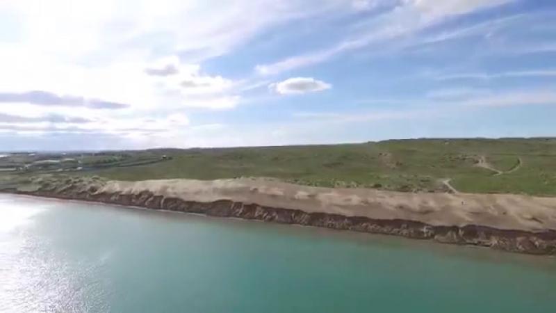 Природа Казахстана. Капчагай. Река или. Красивый видео ролик