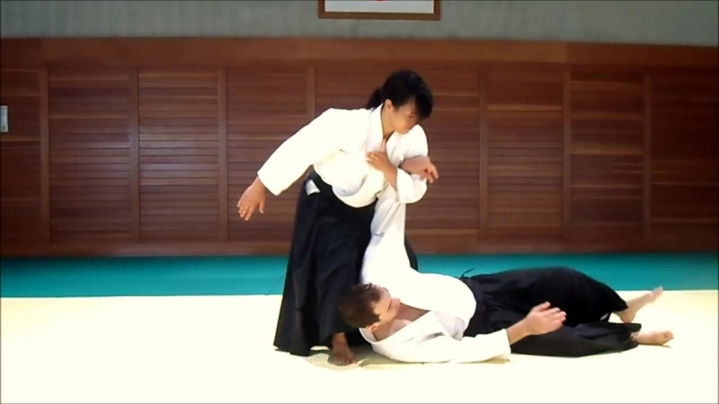 айкидо должно быть мощным даже у девчёнок, Хироми Мацуока, 4 дан
