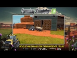 Трейлер Farming Simulator 18