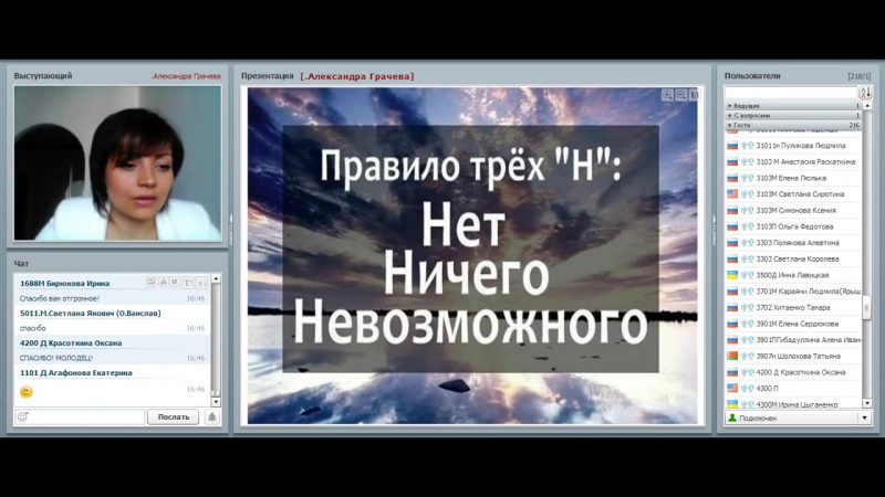Мой новый стиль жизни с командой Экспресс- Карьера Спикер Грачёва Александра