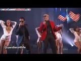 Питбуль и Марк Энтони Концерт в Лос Анджелесе на American Music Awards США