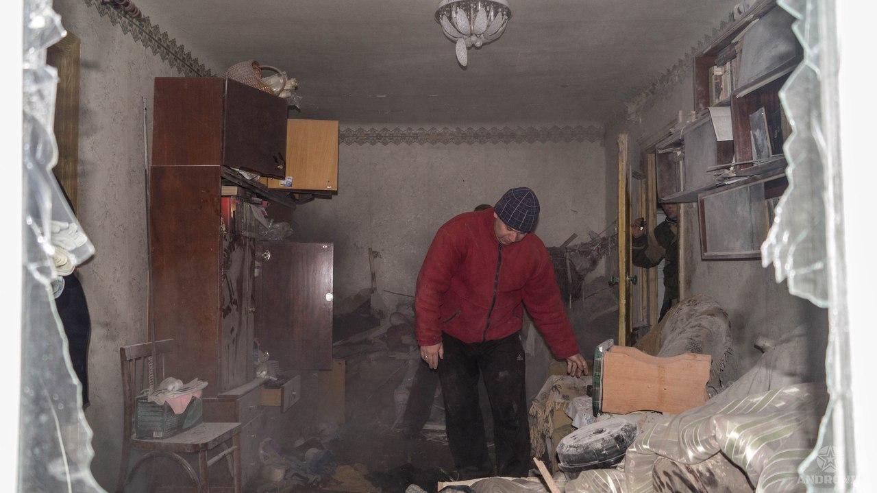 Жертвами обстрела Ясиноватой стали мирные жители