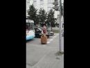 Баба Яга зажигает по городу