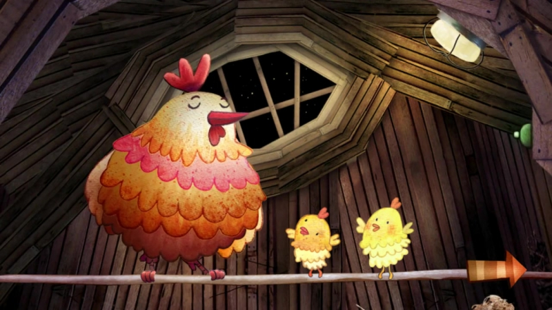 The interactive Bedtime for Children, Baby by fox, sheep