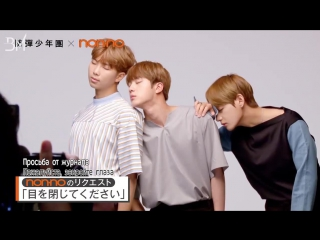 """[RUS SUB][20.06.17] BTS Shooting for Nonno Magazine August Issue """"OFF""""ver."""