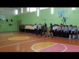 Смотр строя и песни Рембуевская школа 04.05.2017г