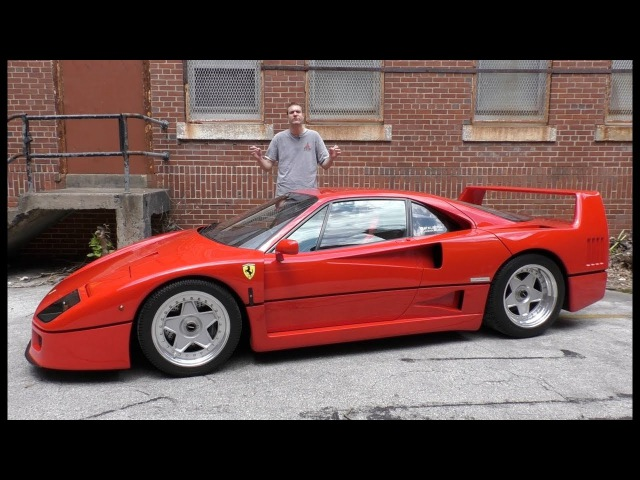 Here's Why the Ferrari F40 Is Worth $1.3 Million